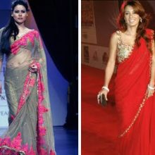 {Manish Malhotra Sarees over the years}