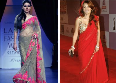 Manish Malhotra Sarees Over The Years