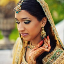 {Real Wedding – Uzma + Shubin}
