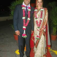 {Celebrity Wedding – Neelam Kothari + Samir Soni}