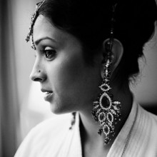 Real Wedding:  Poornima + Anand