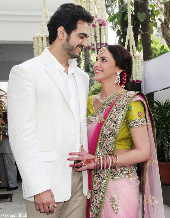 how did esha deol and bharat takhtani meet