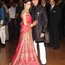 Ritesh Deshmukh & Genelia D'Souza's Wedding Reception