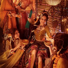 Mehndi Editorial Shoot:  Designer Nilofer Shahid