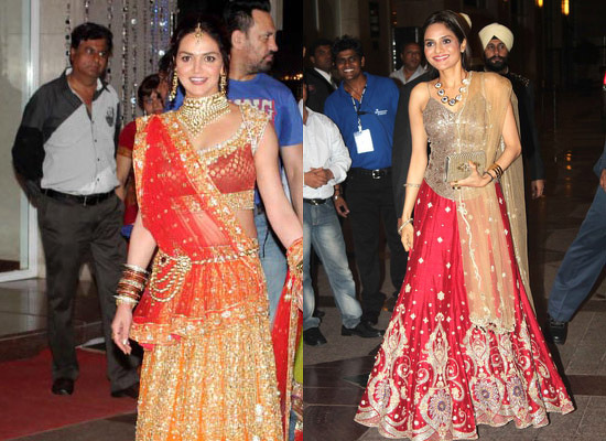 celebrity wedding esha deol bharat takhtani