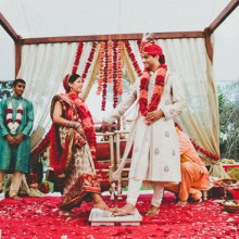 Real Wedding:  Bhavini + Anand