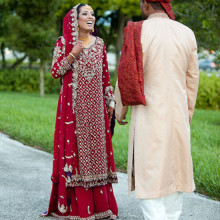 Real South Asian Wedding:  Ayesha + Umair