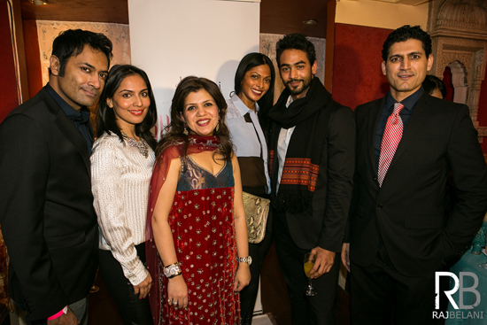 Shirin with Celebs - RB