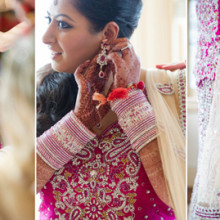 South Asian Wedding:  Pooja + Mayur