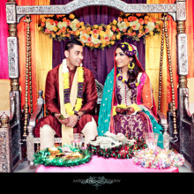 Real Muslim Wedding:  Rabia + Ayyaz
