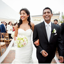 Real South Asian Wedding:  Tanya + Anu
