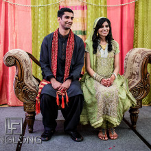 Real South Asian Wedding:  Kiran + Abbas