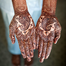 Real South Asian Wedding:  Archana + Adrian (Part 1 of 2)