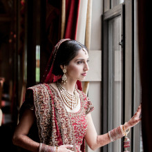 Real South Asian Wedding:  Reecha + Amit (Part 1 of 2)