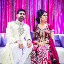 Real South Asian Engagement:  Anum + Sohail