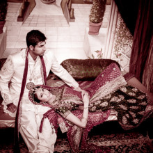 Real South Asian Wedding:  Geera + Tony