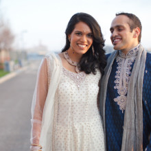 Real Boston Indian Wedding:  Maya + Nilay (Part 1 of 2)