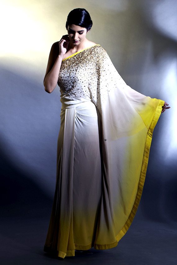 Satya Paul Festive Collection'13- Kaftan Saree
