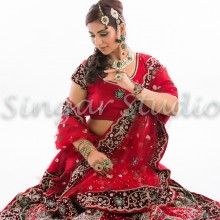 Indian Bridal Hair & Makeup Inspirations by Singar Studios