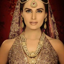 Lajwanti Bridals + Bushra Aftab Jewels