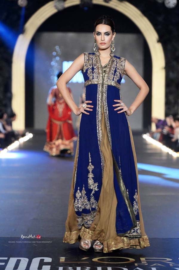 3d1e013a56 PFDC L'Oreal Bridal Fashion Week 2013 – Asifa & Nabeel.  904109_430680387043129_124036485_o