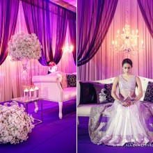 Roma & Sanket – Reception Photography by nadia d. photography