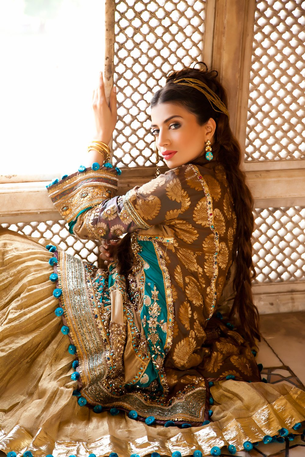 Saadia Mirza By Maram Amp Aabroo Salon And Studio Featuring