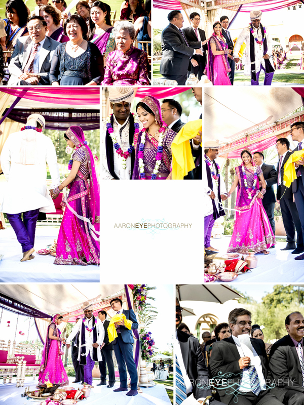 Indian wedding of rekha and rajneel in rancho santa for 18 8 salon rancho santa margarita