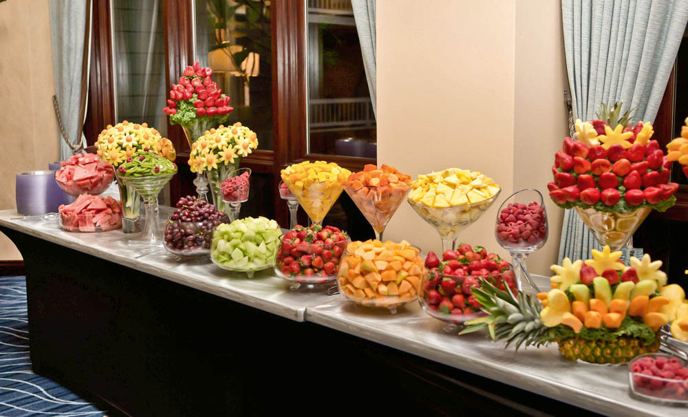 Fruit table display ideas 100 images fruit table for Wedding table design tool
