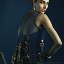 Sana Salman's 'Gold Dust' Collection by Nadir Firoz Khan