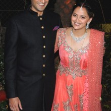 Celebrity Wedding:  Ahana Deol & Vaibhav Vora Sangeet and Wedding, India