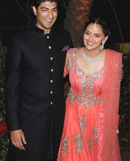 Celebrity Wedding Ahana Deol Vaibhav Vora Sangeet And Wedding India