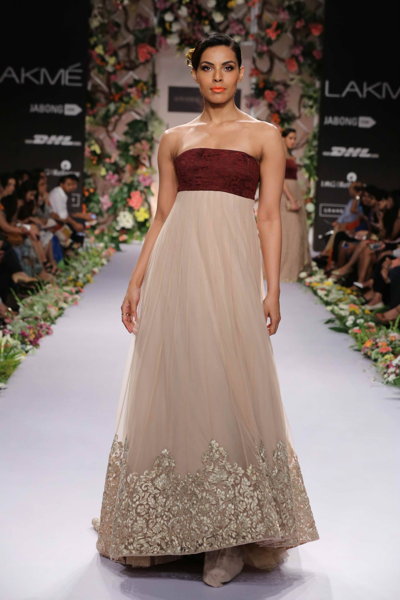 Shyamal Amp Bhumika At Lakme Fashion Week S R 2014