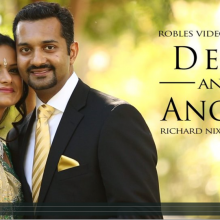 Devi + Anoop | Cinematic Reception Highlights by Robles Video Productions