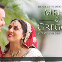 Meha & Gregory – Cinematic Hindu Highlights by Robles Video Productions