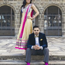 Aman + Amneet | Engagement Session by Silver Lights Photography