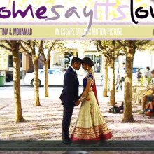 Tina + Mohamad | Some Say It's Love by Escape Studios