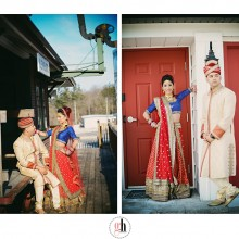 Pooja + Amit | Wedding by G+H Photography, Part 1