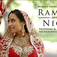 Ramandeep + Nikhraj – Cinematic Wedding Highlights by Robles Video Productions