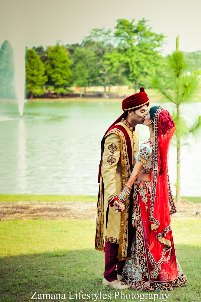 Bhumi And Nikhil Macon Ga Indian Wedding By Zamana Photo