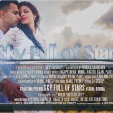 Shafeena + Vishal | Sky Full of Stars by Escape Studios