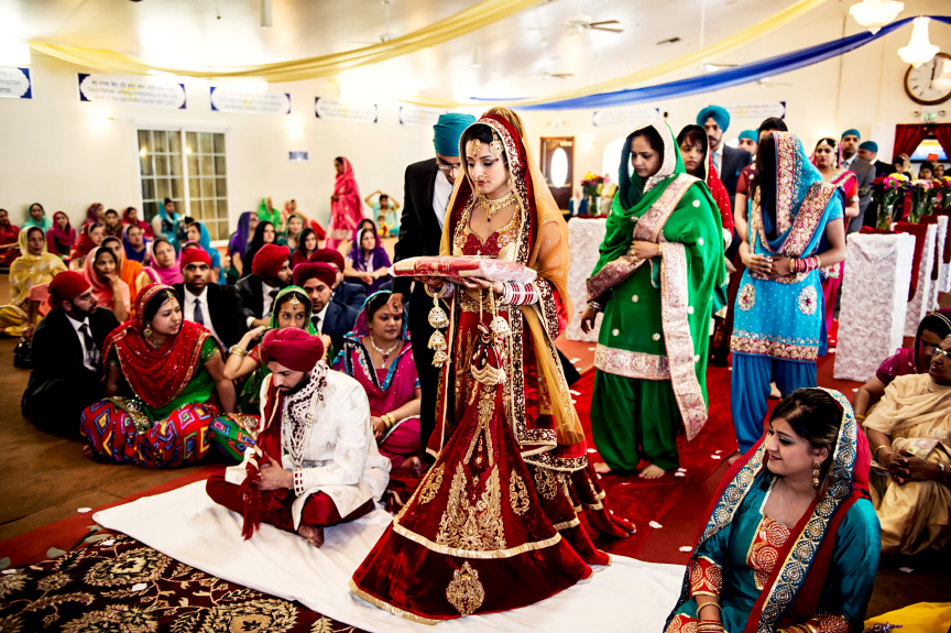 navi rocky sikh wedding by aaroneye photography