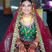 Gauri + Sujal | Beautiful Indian Wedding by Haring Photography & Suhaag Garden, Part 1 of 2