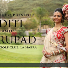 Aditi + Dhrupad | Cinematic Hindu Highlights by Robles Video Productions