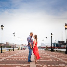 Alicia + Vaibhav | Baltimore Engagement Session by Sachi Anand Photography