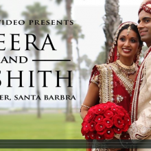 Veera + Nishith | Santa Barbara Wedding Highlight by Robles Video Productions