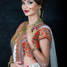 A Fall Bride featuring Artistry by Nida Nafees