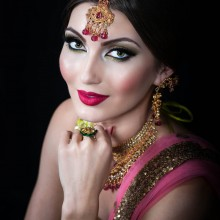 A Bridal Makeup Showcase by Nida Nafees