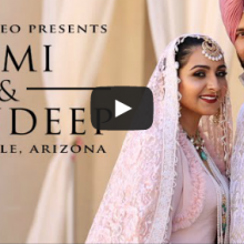 Simi + Mandeep | Cinematic Same Day Highlight by Robles Video Production