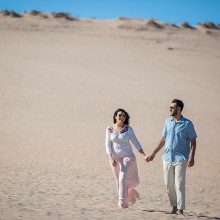 Nadia + Husam | Michigan Engagement Session by Riz Photography